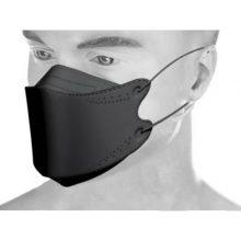 ماسک سه بعدی مدل 3D-KF94 بسته 25 عددی – مشکی