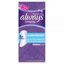پد بهداشتی روزانه الویز مدل Clean & Protect بسته 20 عددی