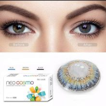 لنز چشم رنگی نئو کاسمو مدل 3TONE – BLUE شماره N311